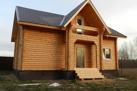 Дом с участком по Киевскому шоссе из бревна 8-10 соток Вишневый сад - Фото 5