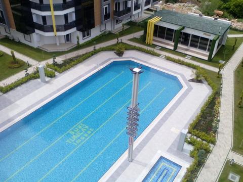 Анталия Лиман Двухуровневая квартира 1и 2 этажи , бассейн , паркинг - Фото 1