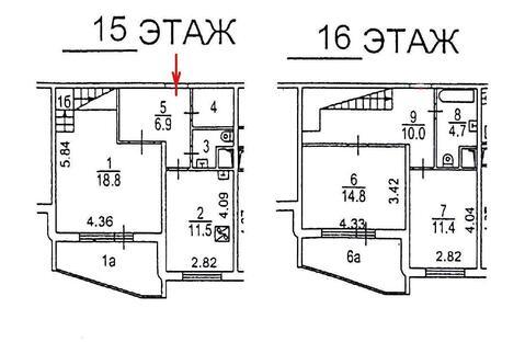 Двухуровневая квартира - Фото 4