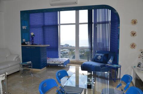 Видовая 2-к.квартира в новом престижном комплексе в Ялте - Фото 2