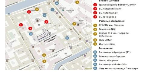 Псн в собственность 2205.4 кв.м, м.Адмиралтейская - Фото 2