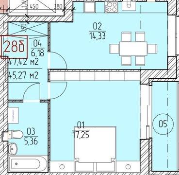 Продажа 1-к квартиры по выгодной цена ЖК Прованс - Фото 1