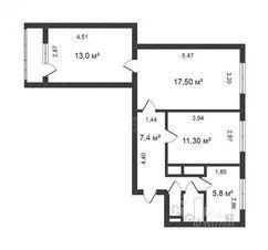 Продажа квартиры, Новый Уренгой, Ул. Юбилейная - Фото 1