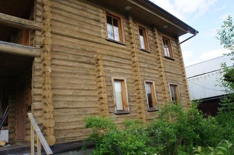 Дом терем их тесаного бревна в Новой Москве. - Фото 3