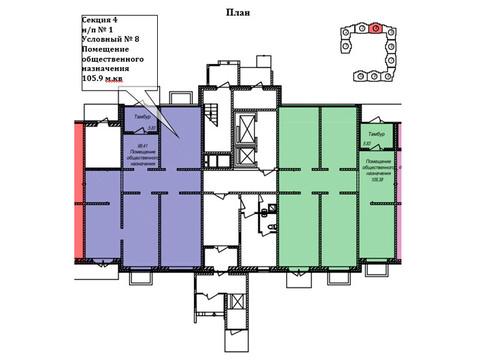 Торговое помещение 105.9 кв. м, м. Пятницкое шоссе - Фото 2