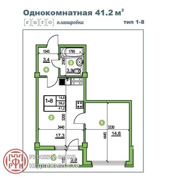Продам 1к. квартиру. Романовка пос, 3-й прд, д.33 - Фото 5