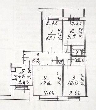 4-х комнатная квартира в Долгопрудном