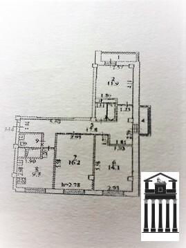 Панорамная 3-х комнатная квартира с видом на мгу - Фото 4