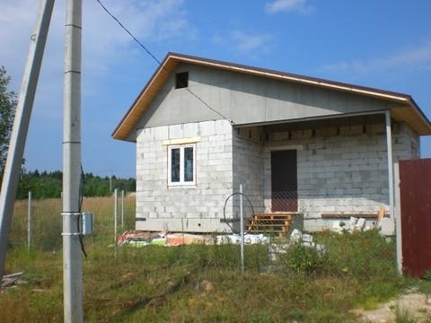 Продается новый дом в заповеднике Барсуки на окраине деревни. - Фото 1