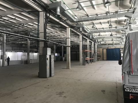 Сдается производственно-складское помещение 1000 кв. м. Водоснабжение - Фото 1