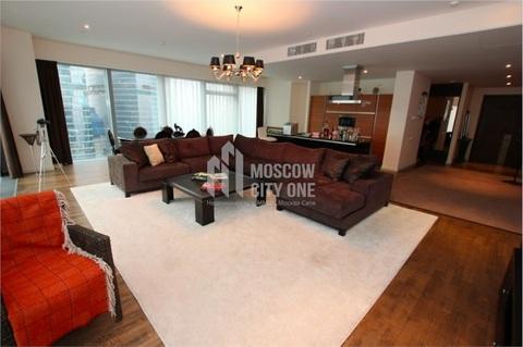200 м2 Двуспаленный апартамент в Городе Столиц Башня Москва 42 этаж - Фото 5