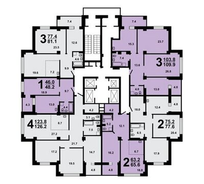 4 комнатная в Советском - Фото 1