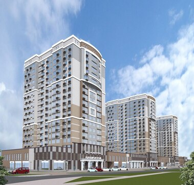 2 385 120 Руб., Продается 1-к квартира в новостройке, Купить квартиру в новостройке от застройщика в Белгороде, ID объекта - 322555145 - Фото 1