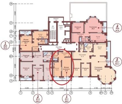 Квартира, ул. Елькина, д.88 к.а, Продажа квартир в Челябинске, ID объекта - 332147644 - Фото 1