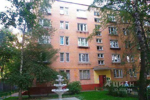 1-к кв. Москва Вяземская ул, 13 (30.0 м)