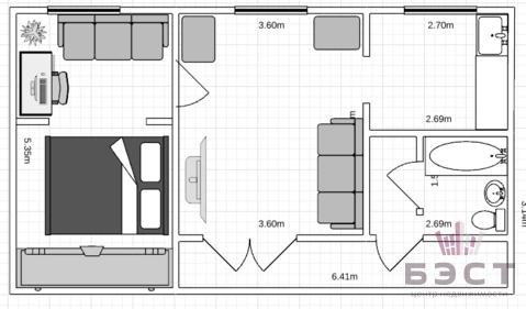 Квартира, пр-кт. Ленина, д.40 - Фото 1