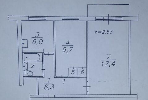 Комната в квартире Новая 30 - Фото 2