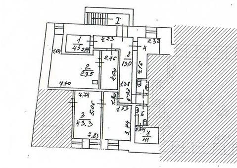 Офис в Москва Большой Палашевский пер, 1с2 (45.2 м) - Фото 2