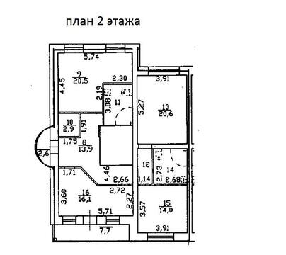 Продам таунхаус 320 кв. м, Санкт-Петербург, Стрельна - Фото 3