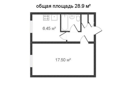 Продажа однокомнатной квартиры на переулке Малинники, 17 в Калуге, Купить квартиру в Калуге по недорогой цене, ID объекта - 319812738 - Фото 1