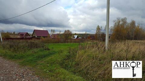 Участок 25 соток ЛПХ д. Игумново 12 км от г. Чехова - Фото 2