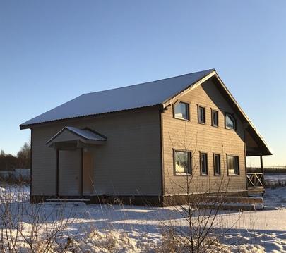 Новый жилой дом 150 кв.м. рядом с Волоколамском, свет, вода, 15с - Фото 2