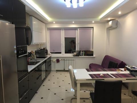 Однокомнатная квартира с дизайнерским ремонтом - Фото 1