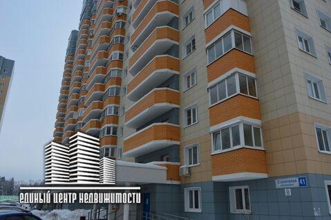 1к. квартира, п. Некрасовский, мкр-н. Строителей, д. 41 - Фото 1