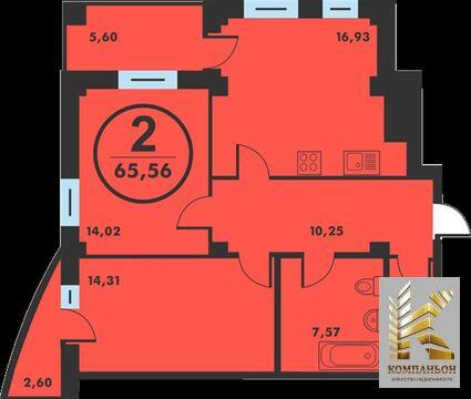 Продажа квартиры, Тюмень, Ул. Федюнинского, Продажа квартир в Тюмени, ID объекта - 331017846 - Фото 1