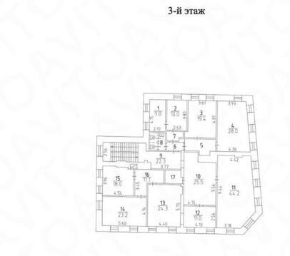Аренда офиса в Москве, Новокузнецкая Третьяковская Павелецкая, 871 . - Фото 4