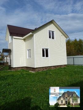 Прдам замечательный новый дом 110 кв.м п.Белоозерский c.Т.Михалево - Фото 3