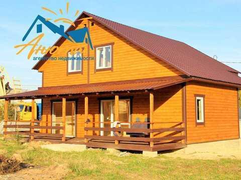 Новый жилой дом со всеми коммуникациями в живописной деревне рядом с п - Фото 1