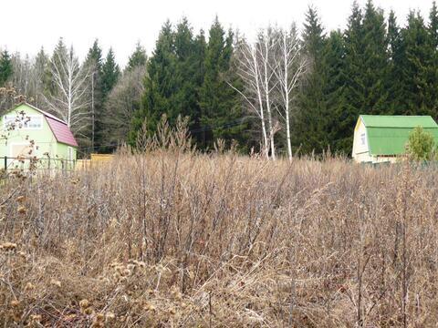 Былина СНТ участок 10 соток Заокский район Тульская область - Фото 1