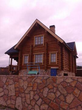 Пос. Красноармейский дом из бревна 217 кв.м. на участке 15 соток ИЖС - Фото 1