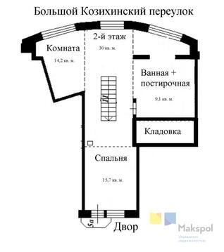 Продам 1-к квартиру, Москва г, Большой Козихинский переулок 27с1 - Фото 5