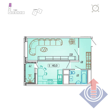 Продажа квартиры, Мытищи, Мытищинский район, Купить квартиру в новостройке от застройщика в Мытищах, ID объекта - 328979436 - Фото 1