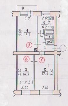 Комната 16,4кв.м Андрианова, д.32 - Фото 2