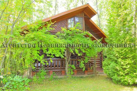 Глашино, 75 км от МКАД. Жилой дом с отдельн-щей баней, на лесном уч-ке - Фото 1