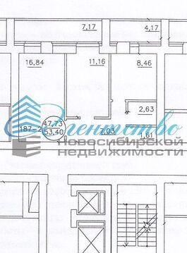 Продажа квартиры, Новосибирск, м. Площадь Маркса, Ул. Титова, Купить квартиру в Новосибирске по недорогой цене, ID объекта - 317714246 - Фото 1