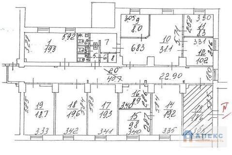 Аренда офиса 221 м2 м. Окружная в бизнес-центре класса В в . - Фото 2