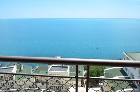 Апартаменты в Никите, свой пляж, вид на море - Фото 2