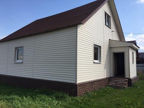 Дом ПМЖ на участке 25 соток, Продажа домов и коттеджей в Струнино, ID объекта - 502113632 - Фото 1