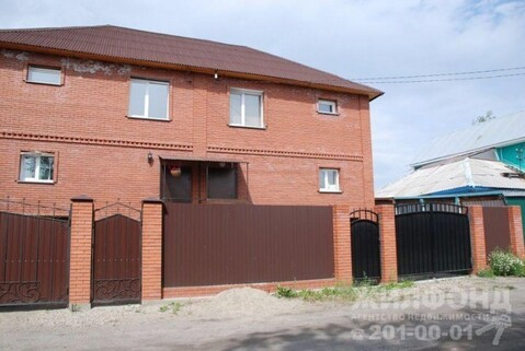 Продажа таунхауса, Новосибирск, Ул. Локомотивная - Фото 1