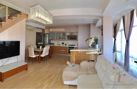 Двухуровневая квартира в центре Адлера - Фото 1