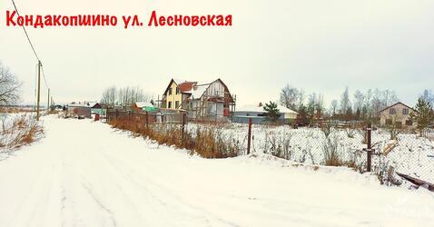 Санкт-Петербург, Пушкинский район, п.Кондакопшино, 12 сот. ИЖС - Фото 1