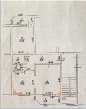 2-я квартира, 64.00 кв.м, 2/5 этаж, , Кобцевой Н.С. ул, 2600000.00 .