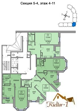 Продажа квартиры, Балашиха, Балашиха г. о, Ул. Авиарембаза - Фото 2