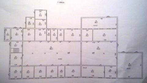 Промышленное здание. Общая полезная площадь здания 1660м2 - Фото 3
