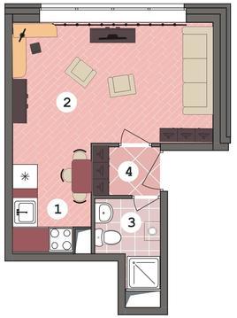 Продаю квартиру-студию в «новинки smart city » - Фото 2