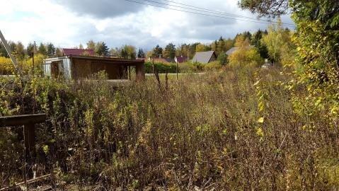 Участок 14, 8 соток, в деревне Брехово ( г. Голицыно ) - Фото 3